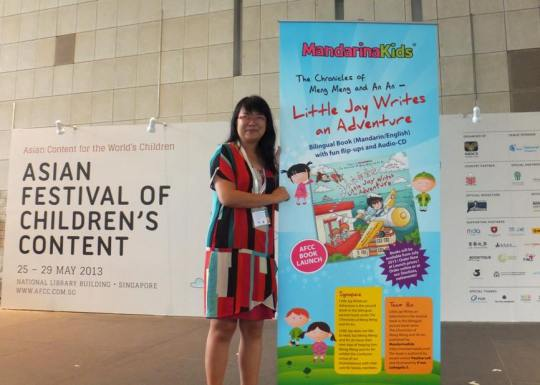 Launch of Bilingual Book Little Jay Writes An Adventure