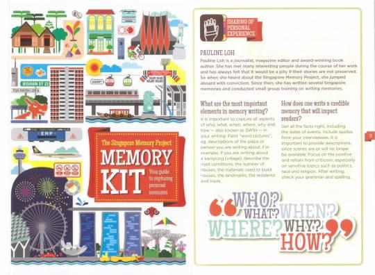Singapore Memory Project Memory Kit