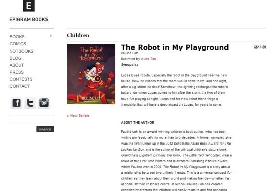 Robot In My Playground